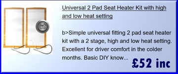 Heated Van Seat