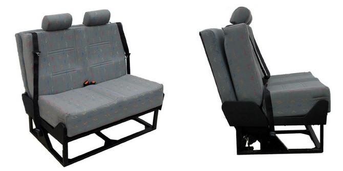 Crashed Tested Van Bed Seat