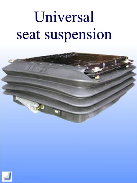 Suspenion base for van seat
