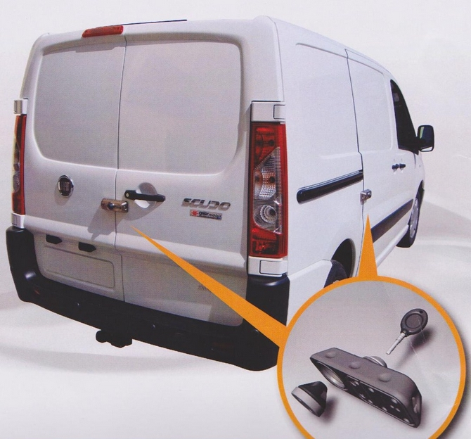 Van Security - Locks - Ultimate Courier Slamlock