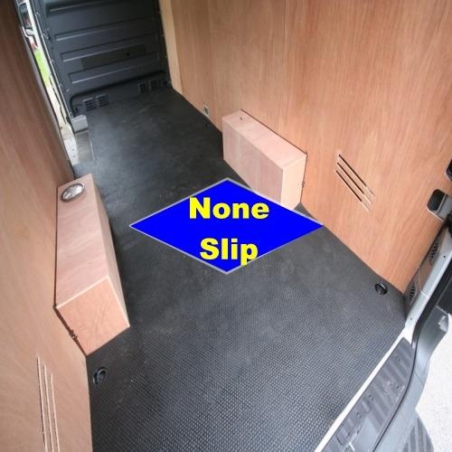 Hard Wearing Vinyl Floor Covering: Rubber Van Floor
