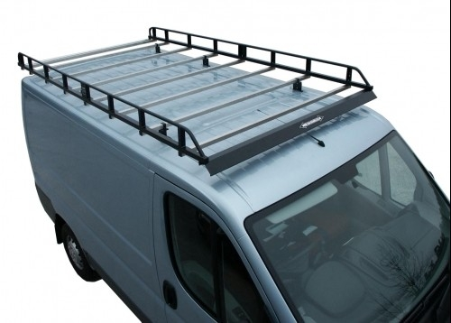 Renault trafic roof rack ladder