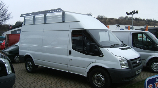 Van Roof Racks >> Lwb 4 1m Van Roof Rack