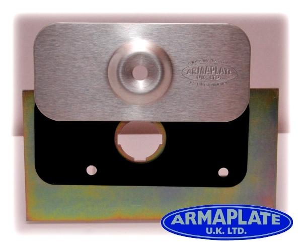 Citroen Relay Mk 3 Rear Door Armaplate Lock Protection Kit