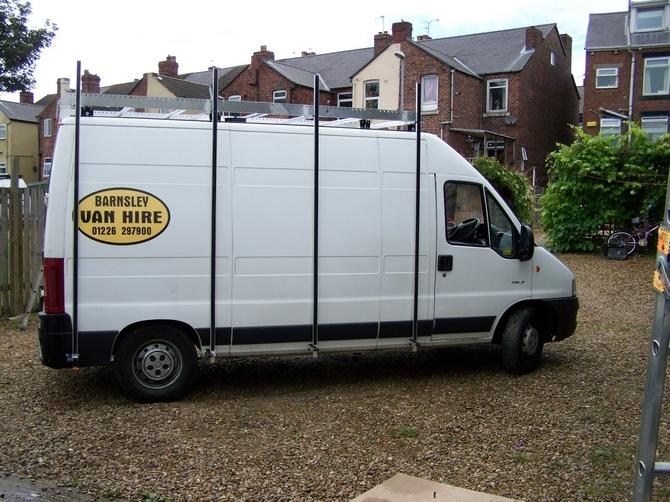 Van Racking Side Racks Temp Frail Van Side Rack System