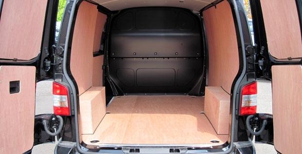 Ford Custom - STD Van - SWB - single sliding door - tailgate Full ply lining kit