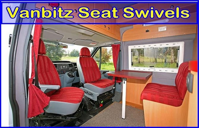 Van Seating Seating Accessories Swivels Citroen
