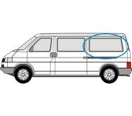 Volkswagen Transporter 1990 - 2003  L3 (LWB) N/S Privacy  Rear Window Glass