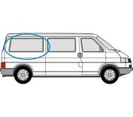 Volkswagen Transporter 1990 - 2003  L3 (LWB) O/S Privacy  Rear Window Glass