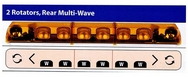 54 Warning Light Bar with WAVE!!