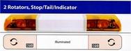 48 Light Bar (Stop/Tail/Indicator/Illuminated Centre)