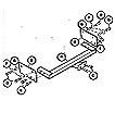 Citroen  C15 (1987 ON) TOWBAR
