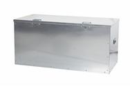 Steel Tool Store Box incl Lock - 1250 x 600 x 600 - Jumbo Twin Lock