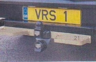 DOUBLE REAR VAN STEP (PLATED)