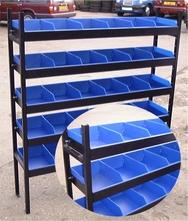 Basic Steel Van Shelving