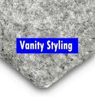 Trunkliner - 8 metres of Silver Van Side W Lining Trim (carpet)