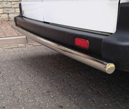 Ford Transit  REAR STAINLESS STEEL (CHROME) 2 BAR