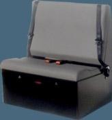 Double Tool Box Van Seat
