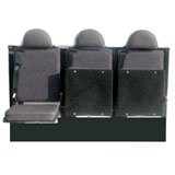 Rear-Facing Bulkhead Van Seating