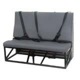 Triple Bench Van Seat