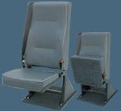 Floor Mounted Tip Up Folding Van Seat