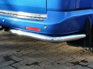 Renault Trafic STAINLESS STEEL QUARTER BUMPER