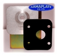 Vaux Movano OSF Driver Door Armaplate Lock Protection kit
