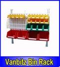 Louvered Van Racking 1200x600mm - Sliding