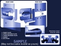 Vaux Movano Rear Door Armaplate Lock Protection kit