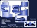 LDV Maxus 3-Door Kit Armaplate Lock Protection