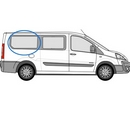 Fiat Scudo 2007 - 2016  L3 (LWB) O/S Privacy  Rear Window Glass