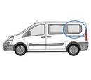 Fiat Scudo 2007 - 2016  L1 (SWB) N/S Privacy  Rear Window Glass