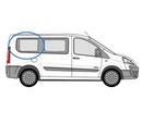 Fiat Scudo 2007 - 2016  L1 (SWB) O/S Privacy  Rear Window Glass