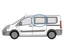 Fiat Scudo 2007 - 2016 Half Slider N/S Privacy  Front Window Glass