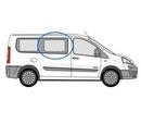 Fiat Scudo 2007 - 2016 Half Slider O/S Privacy  Front Window Glass