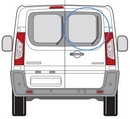 Peugeot Expert 2007 - 2016  Glass O/S Privacy  Back Door(s) Window Glass