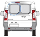 Citroen Dispatch 2007 - 2016  Glass N/S Privacy  Back Door(s) Window Glass