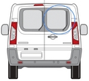 Citroen Dispatch 2007 - 2016  Glass O/S Privacy  Back Door(s) Window Glass