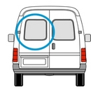 Ford Transit 2000 - 2014  N/S Privacy (All Models)  Back Door(s) Window Glass