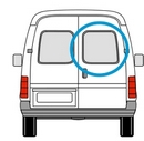 Ford Transit 2000 - 2014  O/S Privacy (All Models)  Back Door(s) Window Glass