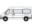Ford Transit 2000 - 2014  L2 (MWB) N/S SLD Privacy  Rear Window Glass