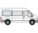 Ford Transit 2000 - 2014  L2 (MWB) O/S non-SLD Privacy  Rear Window Glass