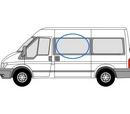 Ford Transit 2000 - 2014 Half slider M / L3 (LWB)/ XL3 (LWB) N/S Privacy  Front Window Glass