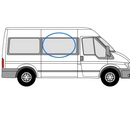 Ford Transit 2000 - 2014 Half Slider M / L3 (LWB) /XL3 (LWB) O/S Privacy  Front Window Glass