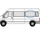 Ford Transit 2000 - 2014  L3 (LWB) N/S SLD Privacy  Rear Window Glass