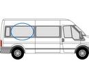 Ford Transit 2000 - 2014  L3 (LWB) O/S Privacy  Rear Window Glass
