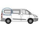 Ford Custom 2013 onwards  L1 (SWB) O/S Privacy  Rear Window Glass