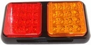 LED Rear Combo Lamp - Stop/Tail & Indicator - 12V/24V