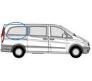 Mercedes Vito 2003 - 2014 L3 (LWB)  O/S Privacy  Rear Window Glass