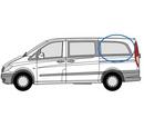 Mercedes Vito 2015 onwards L3 (LWB)  N/S Privacy  Rear Window Glass